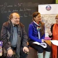 Le prix de poésie 2018 des lecteurs Lire et Faire Lire a été attribué.