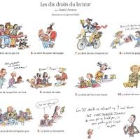 Petits préceptes à se rappeler sur la lecture plaisir, la lecture liberté ou les droits imprescriptibles du lecteur selon Daniel Pennac