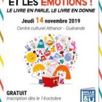 L'album, l'enfant et les émotions à Guérande le 14 novembre 2019.